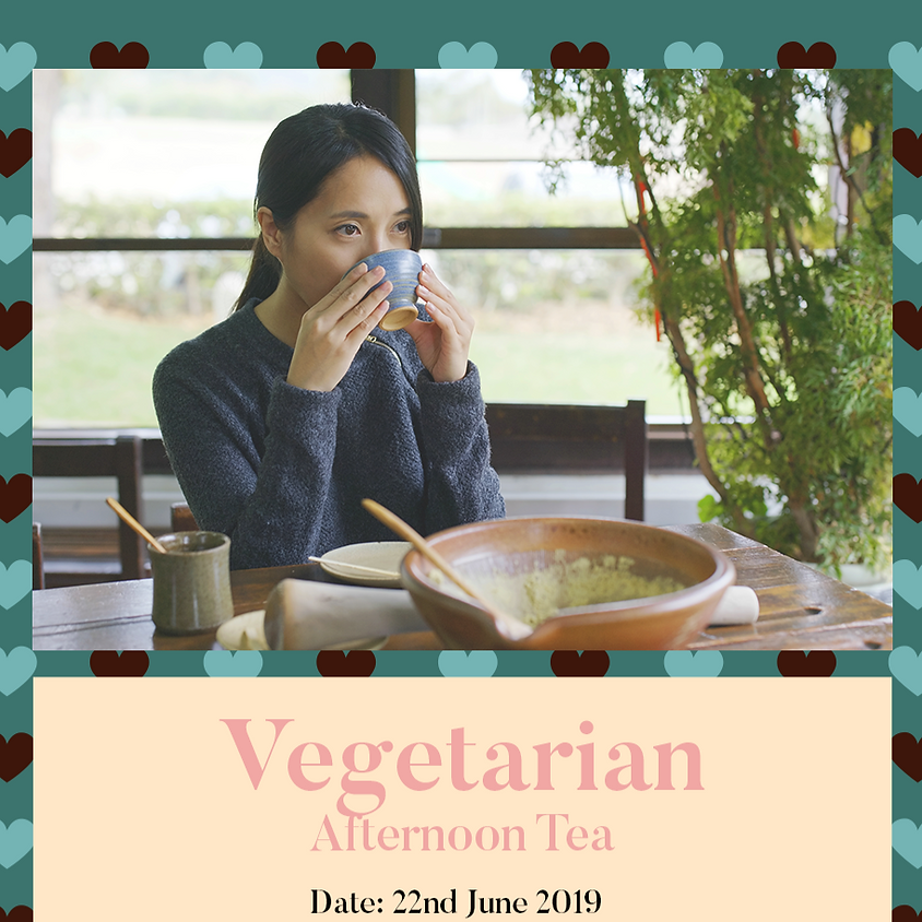 Vegetarian Afternoon Tea (FULL)