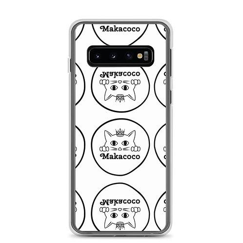 Makacoco Samsung Case - White full print