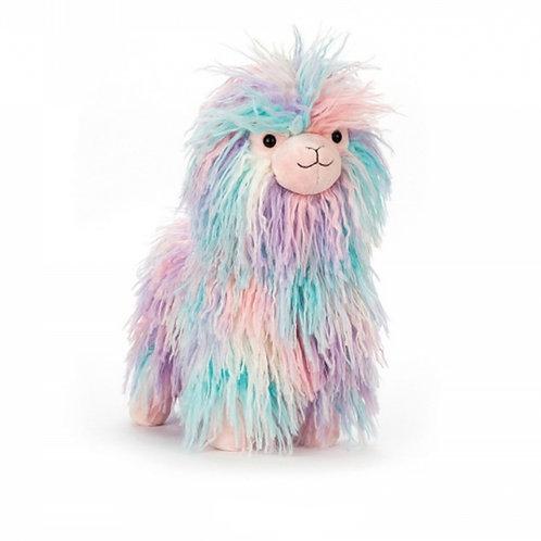 Jellycat Lovely Llama 彩色羊駝 33cm