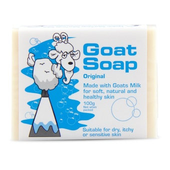 Goat Soap Original 山羊奶原味皂100g