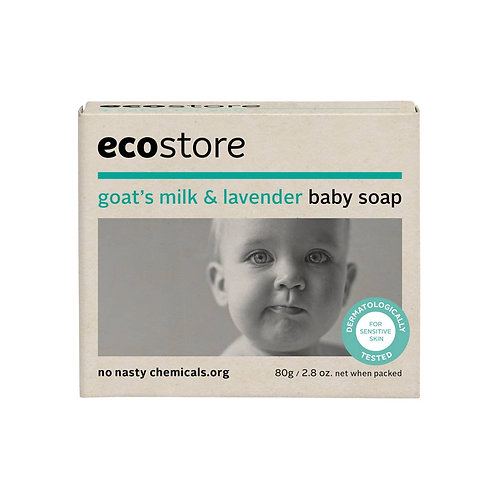 Ecostore Goat's Milk & Lavender Baby Soap 80g 纯天然寶寶薰衣草羊奶香皂