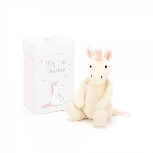 Jellycat My First Unicorn 19cm 盒裝獨角獸
