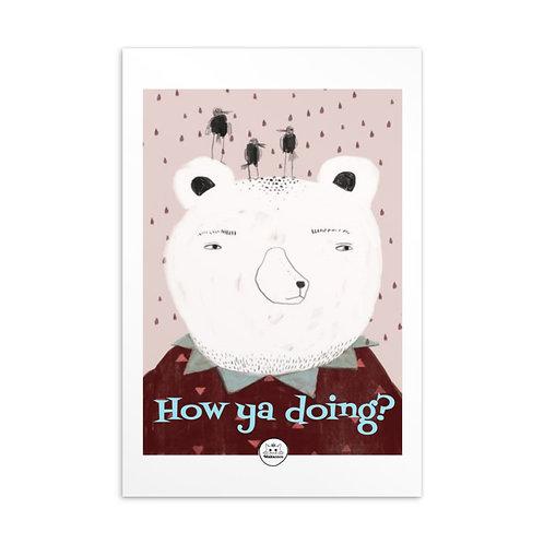 Makacoco Postcard - How ya doing