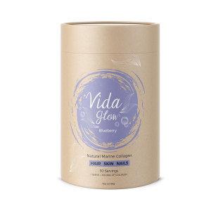 Vida Glow Marine Collagen 30x3g Blueberry 深海膠原蛋白粉 蓝莓味