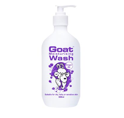 Goat Wash Argan Oil 500ml 山羊奶摩洛哥油沐浴露