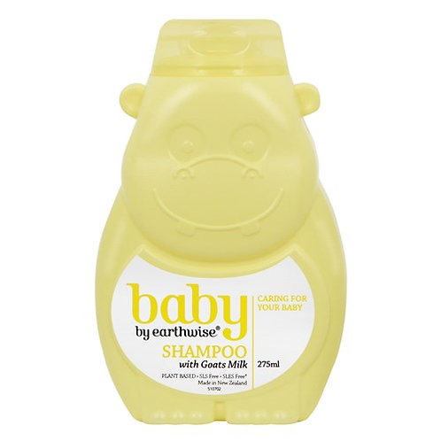 Earthwise Goats Milk Baby Shampoo 275ml 嬰兒羊奶洗髮水