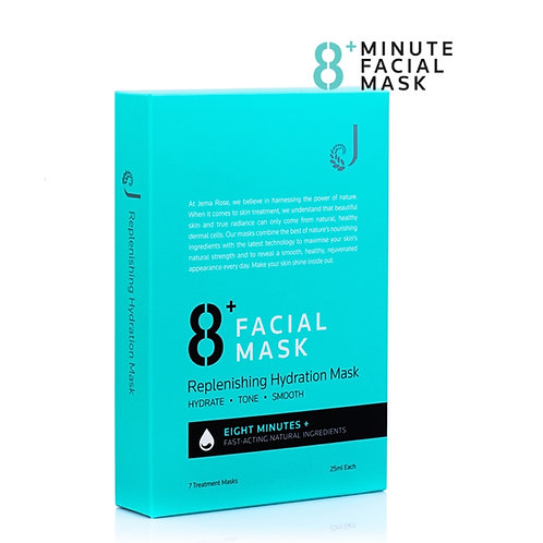 Jema Rose 8+ Minutes Replenishing Hydrating Mask (25ml*7) 8分鐘保濕面膜7片