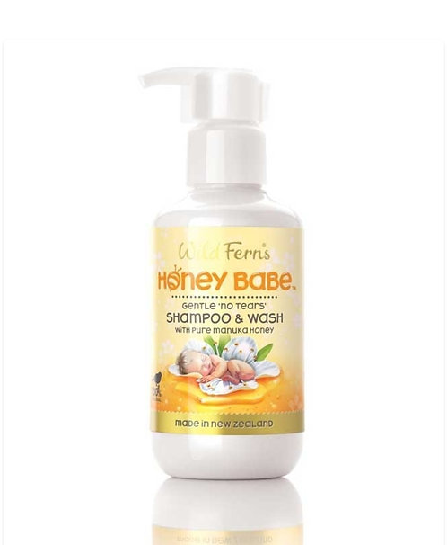 Wild Ferns Honey Babe Shampoo & Wash 140ml 寶寶洗頭沐浴露