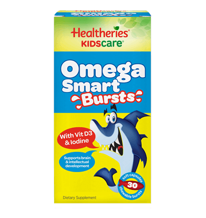 Healtheries KidsCare Omega Smart Bursts 30c 兒童魚油軟膠囊