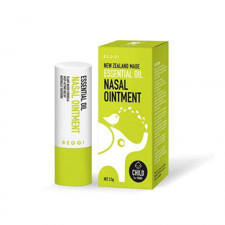 Beggi Essential Oil Nasal Ointment 3.5g (Child) 精油護鼻膏 兒童款 2歲以上