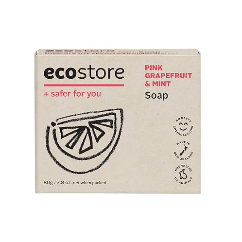 Ecostore Grapefruit & Mint Soap 80g 纯天然薄荷西柚味香皂