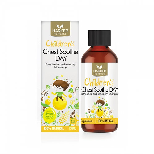 Harker Herbals Children's Chest Soothe Day 150ml 兒童胸腔舒緩液(日間用)