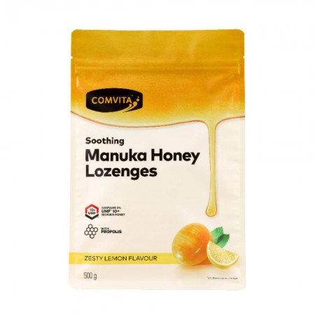 Comvita Manuka Honey Lozenge 500g Lemon 康维他麥蘆卡蜂蜜喉糖 檸檬