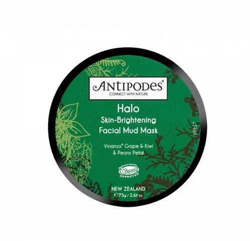 Antipodes Halo Skin-Brightening Facial Mud Mask 75g 亮白泥面膜75克