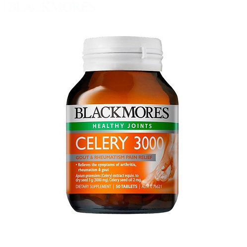 Blackmores Celery 3000 50 tablets 西芹籽精華50粒