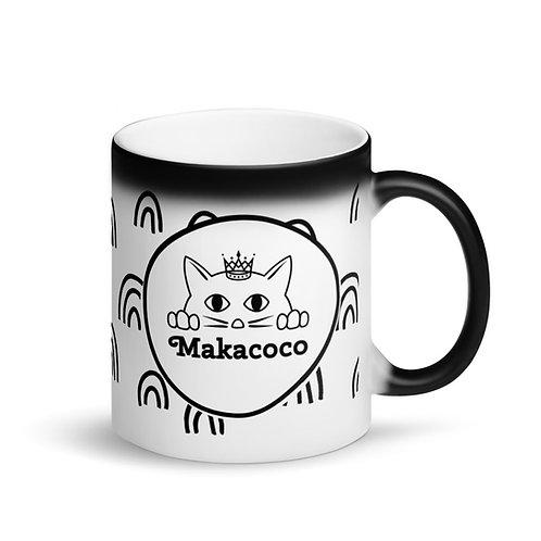 Makacoco Matte Black Magic Mug - Rainbows
