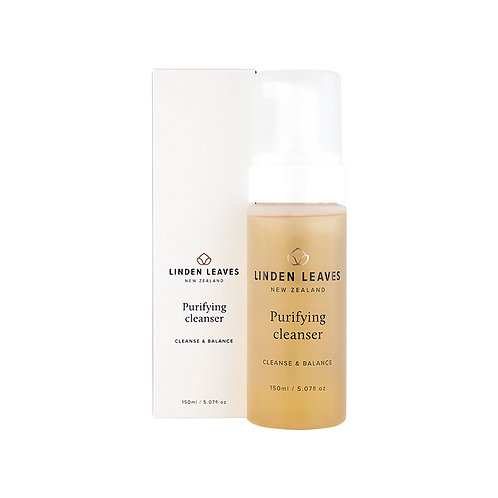 Linden Leaves Purifying Cleanser 150ml 白茶系列金深層潔面泡沫150ml