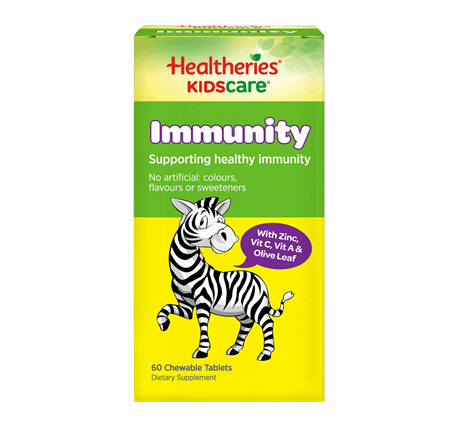 Healtheries KidsCare Immunity Chewable Tablets 60t 兒童免疫力片