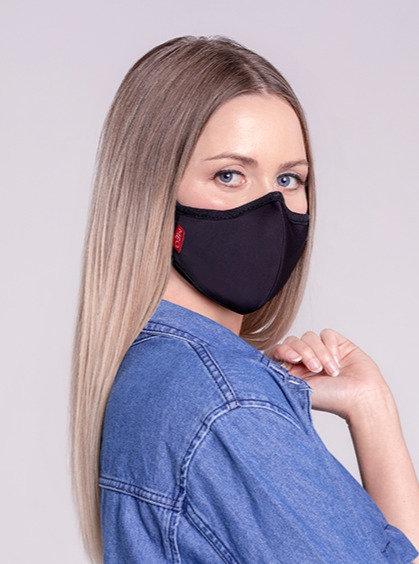 Meo KN95 Lite Mask - Black (+8 Filters) 成人輕便防護口罩 黑色 (+8滤芯)
