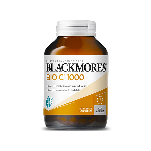 Blackmores Bio C 1000mg 150t 澳佳寶 高含量維生素C150粒