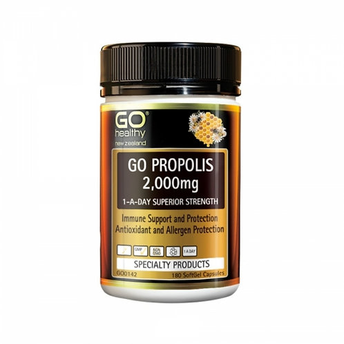 Go Healthy Propolis 2000mg 180c 蜂膠膠囊