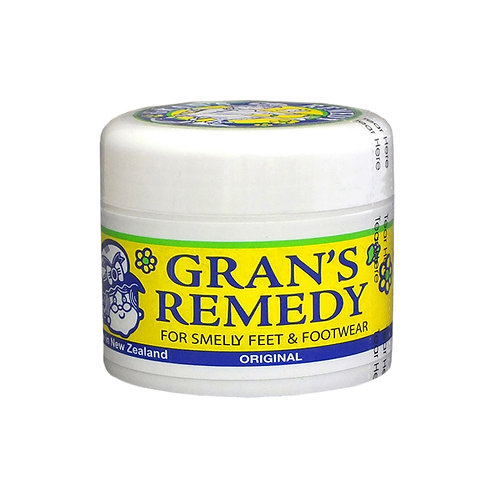 Gran's Remedy Original Powder 50g 老奶奶 除脚臭粉 黄色原味