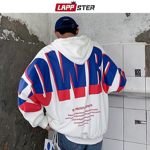 Japanese Style Streetwear Hip Hop Hoodies Oversized