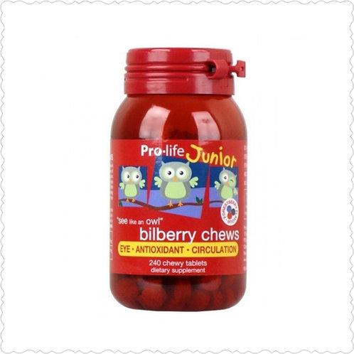 Prolife Bilberry Chews 240t 兒童藍莓護眼素240粒