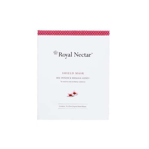 Royal Nectar Shield Mask 25ml*5pc 皇家蜂毒深層補水面膜 25ml*5片