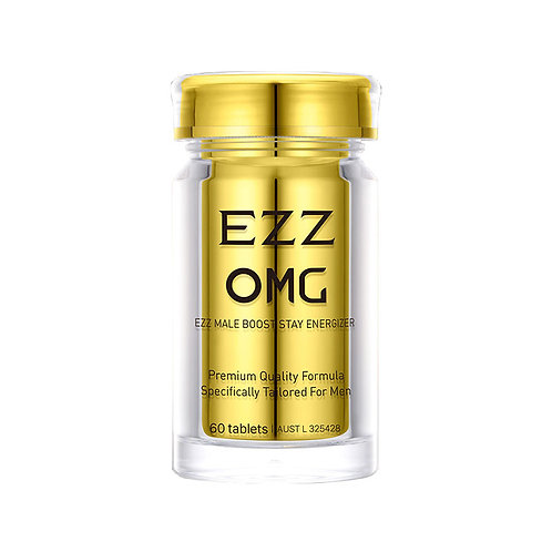 EZZ OMG Male Boost Stay Energizer 60t*2bottles OMG男士活力片60片* 2瓶