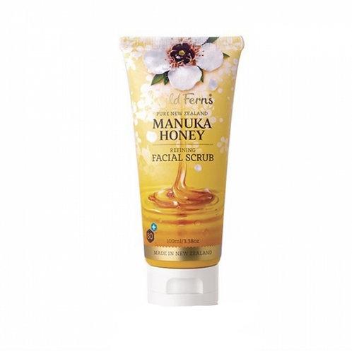 Wild Ferns Manuka Honey Facial Scrub 100ml 麥蘆卡蜂蜜磨砂膏