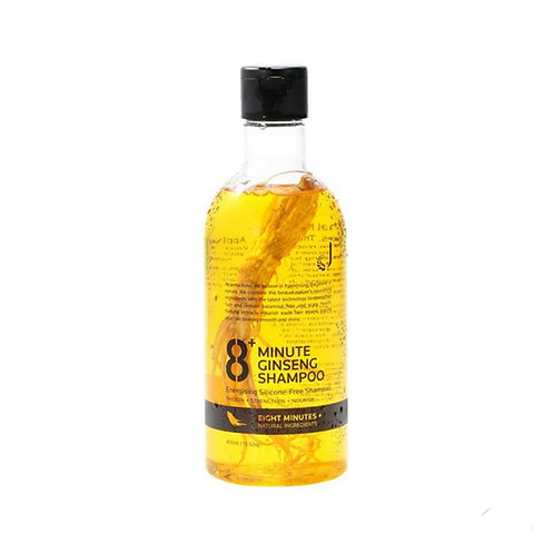 Jema Rose 8+ Minutes Ginseng Shampoo 400ml 8分鐘人參洗髮水