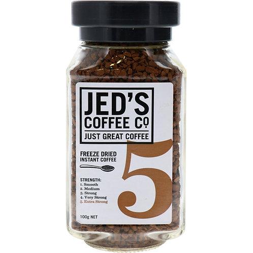 Jed's Coffee Co Instant Coffee Freeze Dried #5 100g 香濃即溶咖啡#5 100g