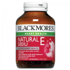 Blackmores Natural E 500IU 150 Caps 維生素E膠囊