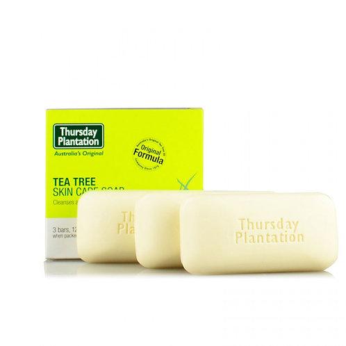 Thursday Plantation Tea Tree Soap 125g*3pc 茶樹油香皂3件/盒