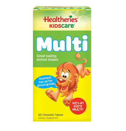 Healtheries KidsCare Multi Chewable Tablets 60t 兒童多種维生素片