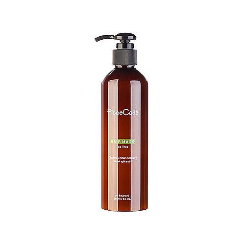 Ficcecode Tea Tree Oil Hair Mask 260ml 茶樹油髮膜 長效控油