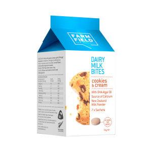 Farm Field Dairy Milk Bites 7bags*8 香濃牛奶片 忌廉曲奇味