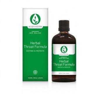 Kiwiherb Herbal Throat Formula 100ml 成人喉嚨配方