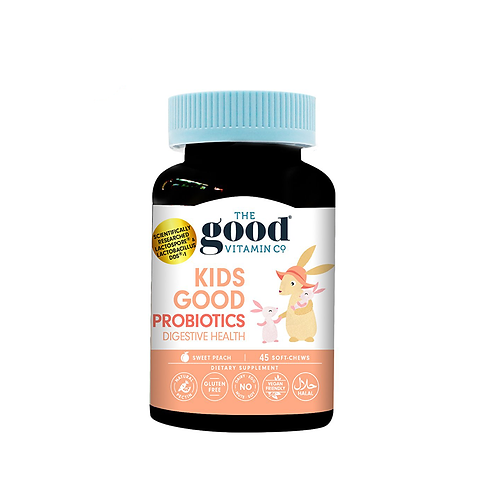 The Good Vitamin Co Kids Probiotics 45 Soft Chews 兒童益生菌軟糖 45粒