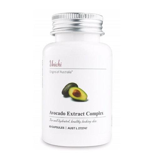 Unichi Avocado Extract Complex 60caps 牛油果精華膠囊