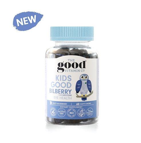 The Good Vitamin Co Kids Bilberry 90 Soft Chews 兒童藍莓軟糖