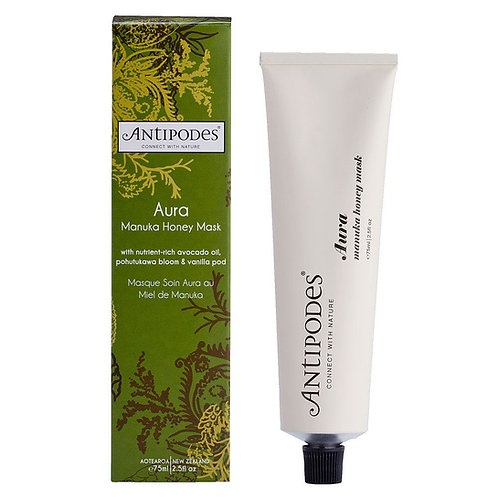 Antipodes Aura Manuka Honey Treatment Mask 75ml 麥盧卡蜂蜜滋養面膜
