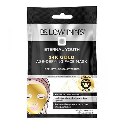 Dr Lewinns 24K Gold Age-Defying Face Mask 20ml (1pc) 24k黃金抗衰老面膜單片裝