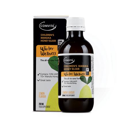 Comvita Manuka Honey Elixir - Lemon 200ml 康维他麥蘆卡蜂蜜檸檬止咳露