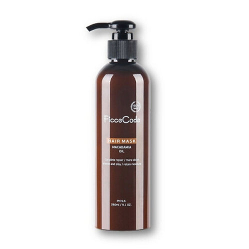 Ficcecode Macadamia Oil Hair Mask 260ml 堅果油髮膜 防脫護髮