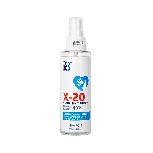 Jema Rose X-20 Sanitising Spray 120ml 抗菌消毒噴霧