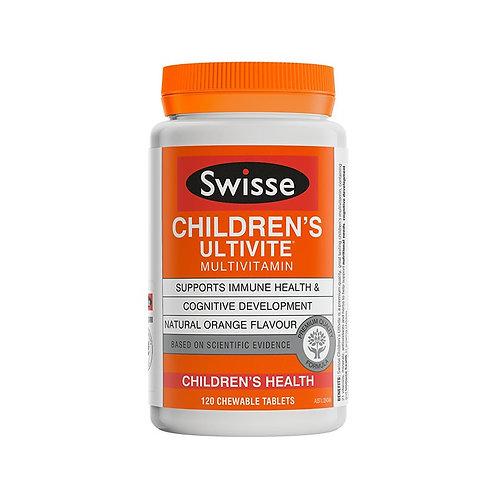 Swisse Children Ultivite 120s 兒童多種维生素120粒