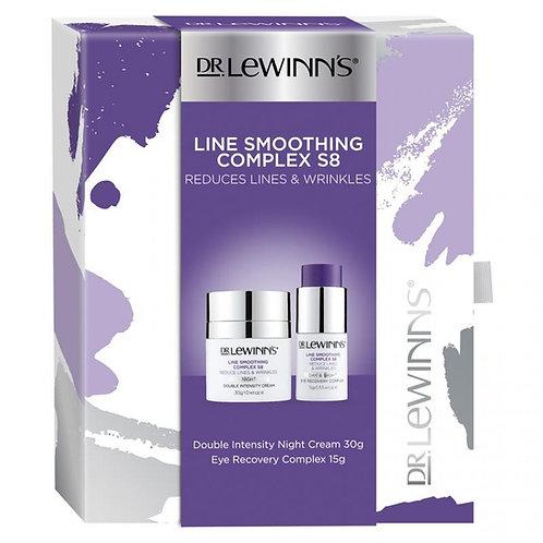 Dr Lewinns Line Smoothing Complex S8 Set (Night Cream + Eye Cream) 套裝(晚霜+眼霜)