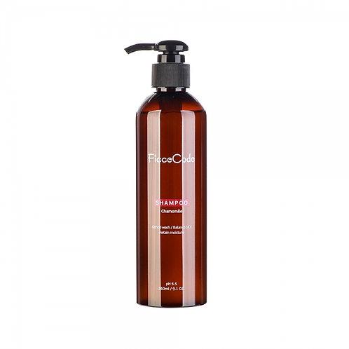 Ficcecode Chamomile Shampoo 260ml 洋甘菊洗髮水 舒敏舒缓